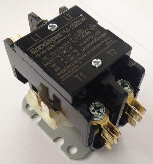 HLC-2XU02AAC(2P/30A/208-240VAC) Definite Purpose Contactor