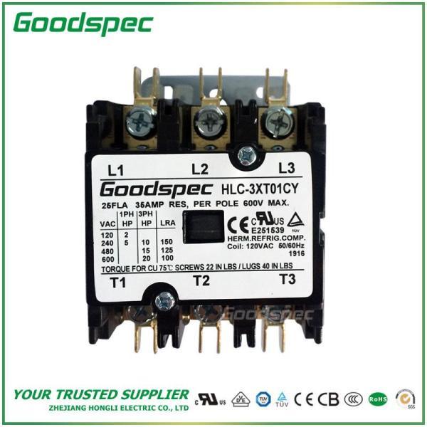 HLC-3XT01CY(3P/25A/120VAC)DEFINITE PURPOSE CONTACTOR
