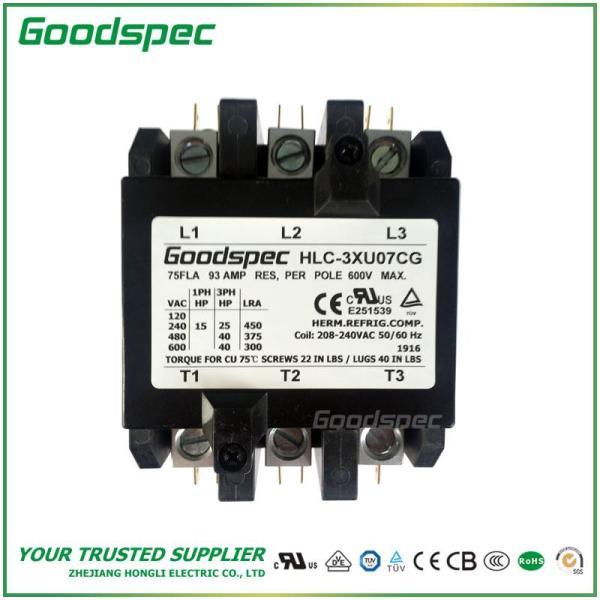HLC-3XU07CG(3P/75A/208-240VAC)DEFINITE PURPOSE CONTACTOR