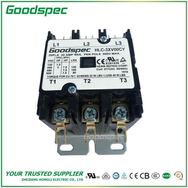 HLC-3XV00CY(3P/20A/277VAC)DEFINITE PURPOSE CONTACTOR