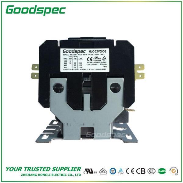 HLC-3XV05CG(3P/50A/277VAC)DEFINITE PURPOSE CONTACTOR