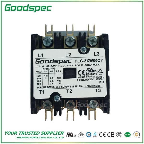 HLC-3XW00CY(3P/20A/380-400VAC)DEFINITE PURPOSE CONTACTOR