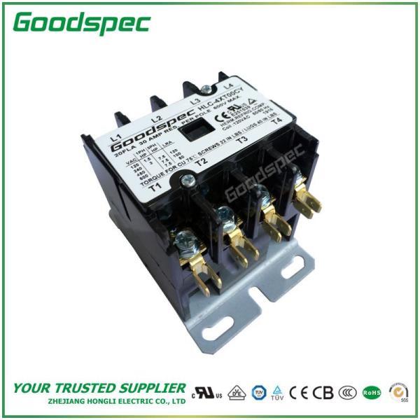 HLC-4XT00CY(4P/20A/120V) DEFINITE PURPOSE CONTACTOR