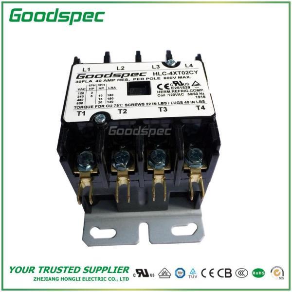HLC-4XT02CY(4P/30A/120V) DEFINITE PURPOSE CONTACTOR