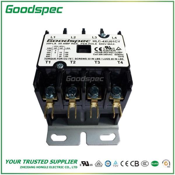 HLC-4XU01CY(4P/25A/208-240V) DEFINITE PURPOSE CONTACTOR