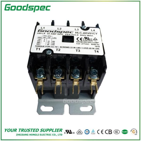 HLC-4XV01CY(4P/25A/277V)DEFINITE PURPOSE CONTACTOR
