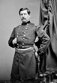Gen. George B. McClellan, by Mathew Brady