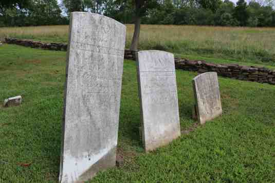 Gravestones of William, Asher and Moykee Williamson