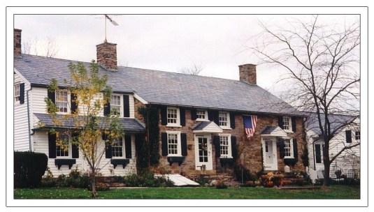 The Van Dolah house in the 1990s