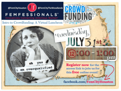 image: flyer-femfessionals-virtual-luncheon-crowdfunding-goodspero
