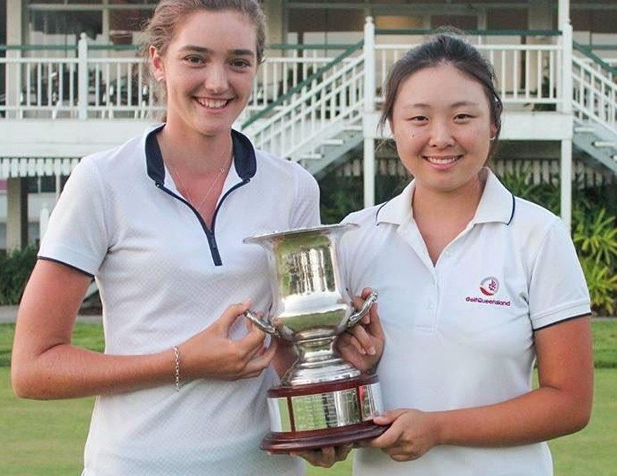 2016 Qld Foursomes Win