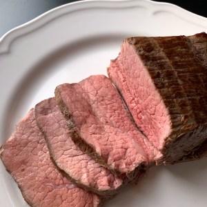 Sous vide roast beef 1200