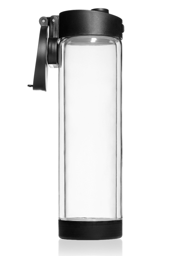Shatterproof Glass Water Bottle With Double Wall Insulation