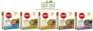 New Mary's Gone Super Seed Crackers.