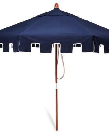 Greek key umbrella