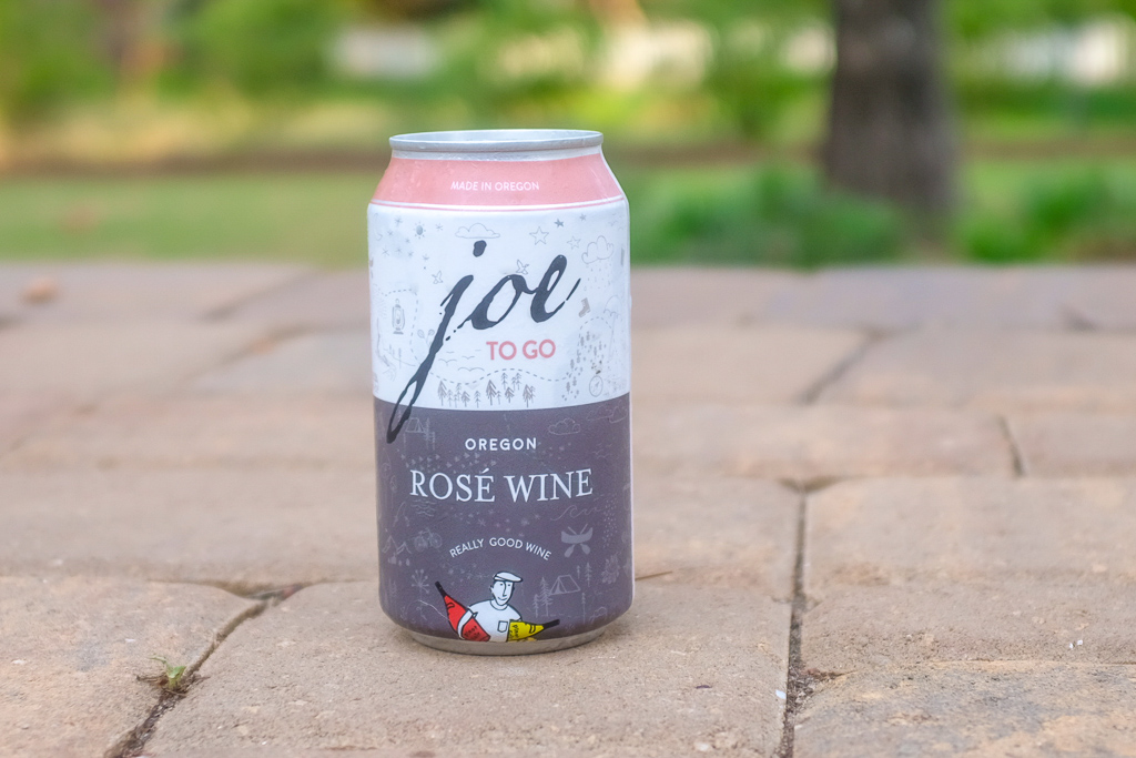 Joe to go rose wine