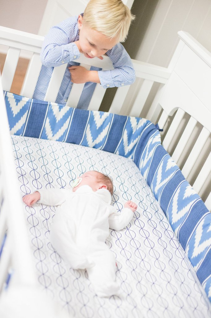 designer nursery on a budget: crib