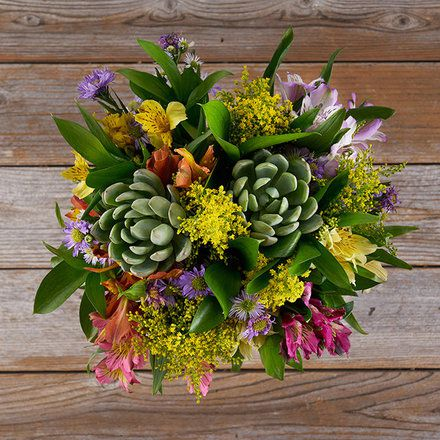 The bouqs flower arrangement