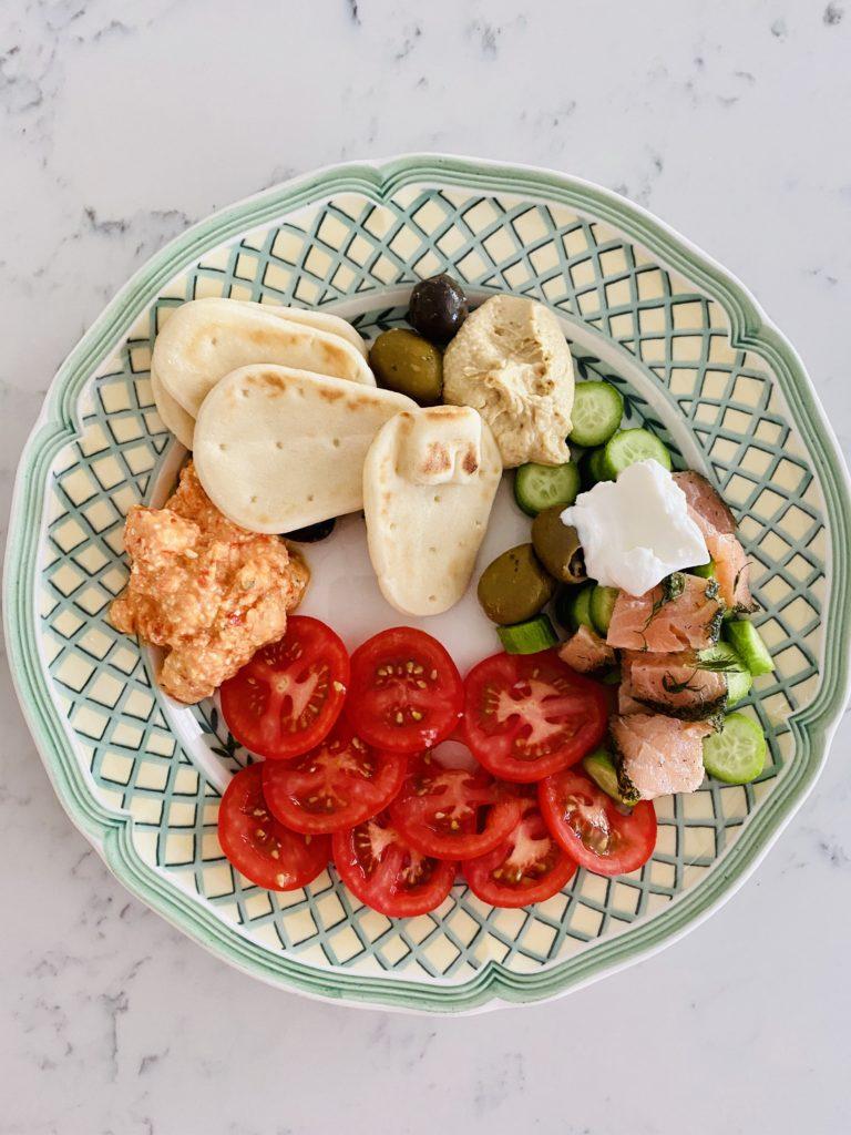 Easy Mezze Plate