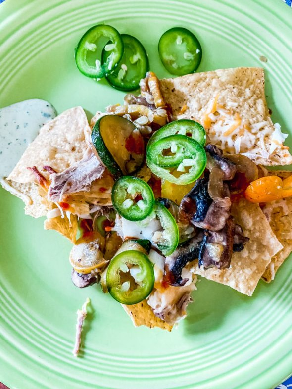 recipe ideas to make with leftovers - nachos