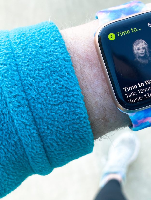 'Time to Walk' on AppleWatch lets you walk with a celebrity