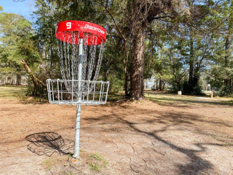 Frisbee Golf Course In Myrtle Beach