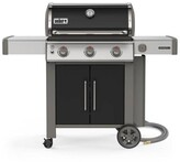 Weber Genesis II E-315 3-Burner Natural Gas Grill in Black with Built-In Thermometer