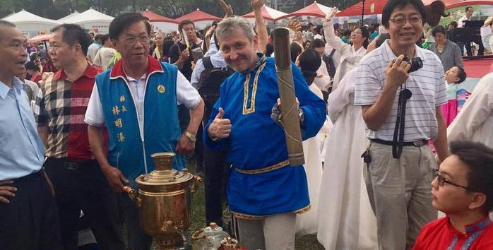 Работа на 2017 Nantou Global Tea Expo.