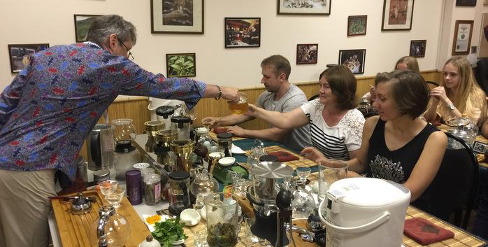 Чайный тимбилдинг для сотрудников Castorama.