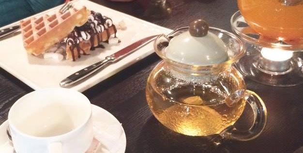 Презентация тайваньских чаёв в кофейне Charlie.
