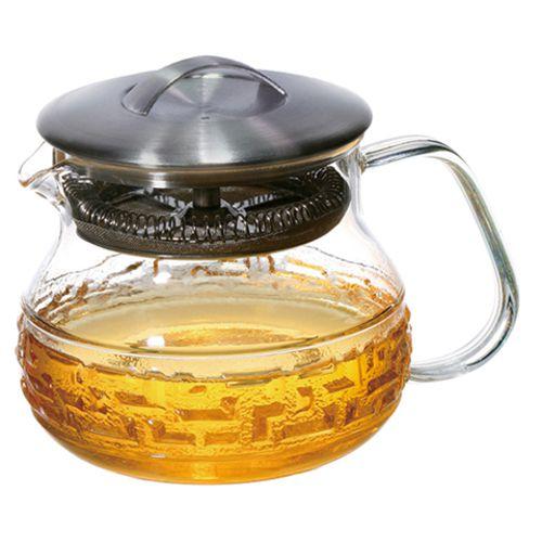 Чайник прозрачный «Хрустальный орнамент»