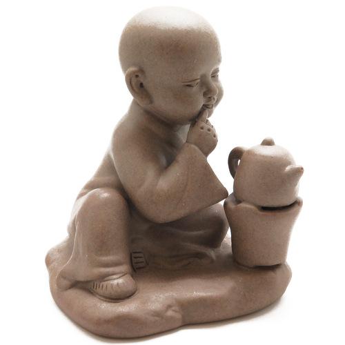 Статуэтка «Мальчик с чайником лукавый»