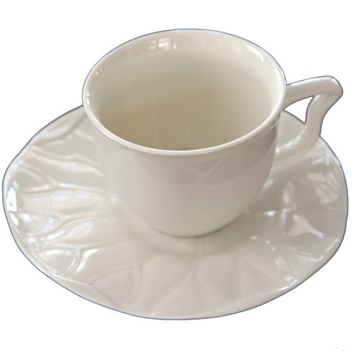 Чайные пары «Лотос» (слоновая кость, 2 пары)