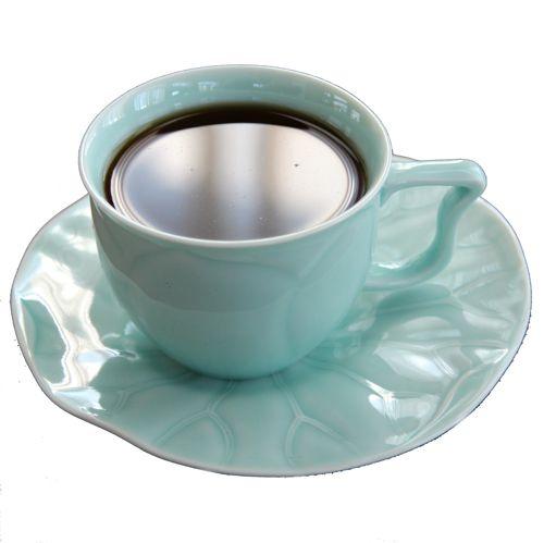 Чайные пары «Лотос» (селадон, 2 пары)