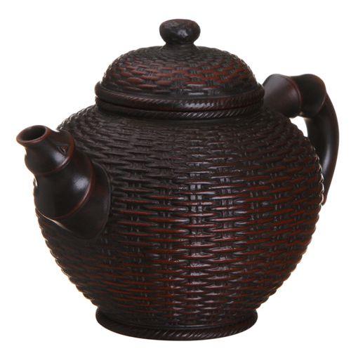 Глиняный чайник «Бамбуковая корзина» (280 мл)