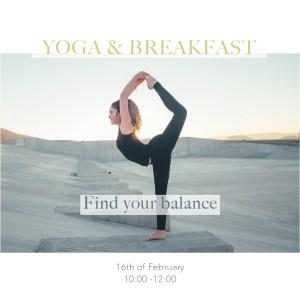 Tea stories yoga and vegan breakfast
