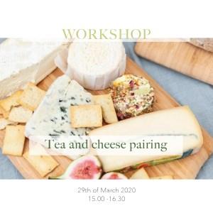 Tea and cheese pairing Tea stories
