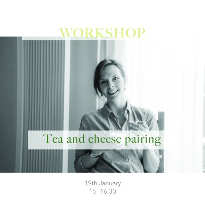 Tea and cheese pairing workshop Tea stories