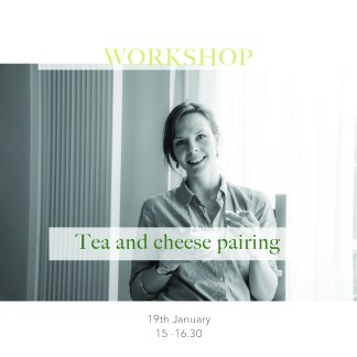 Tea and cheese pairing workshop Tea stories