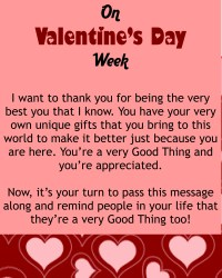 best vals day message