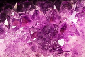 Picture of an amethyst crystal