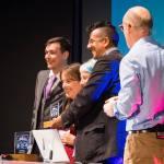 Good Thinking receive an Ockham Award (Photo Credit: Rob McDermott)