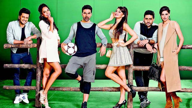 the first look of Housefull 3 was unveiled on Tuesday.