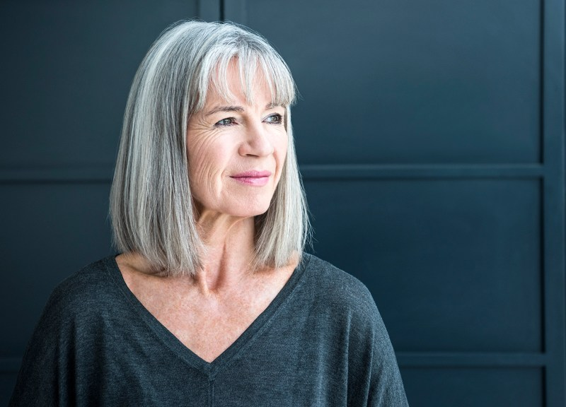 Makeup Tips For Women With Grey Hair