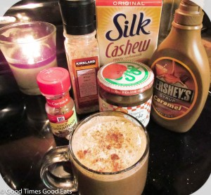 Salted caramel apple cappuccino