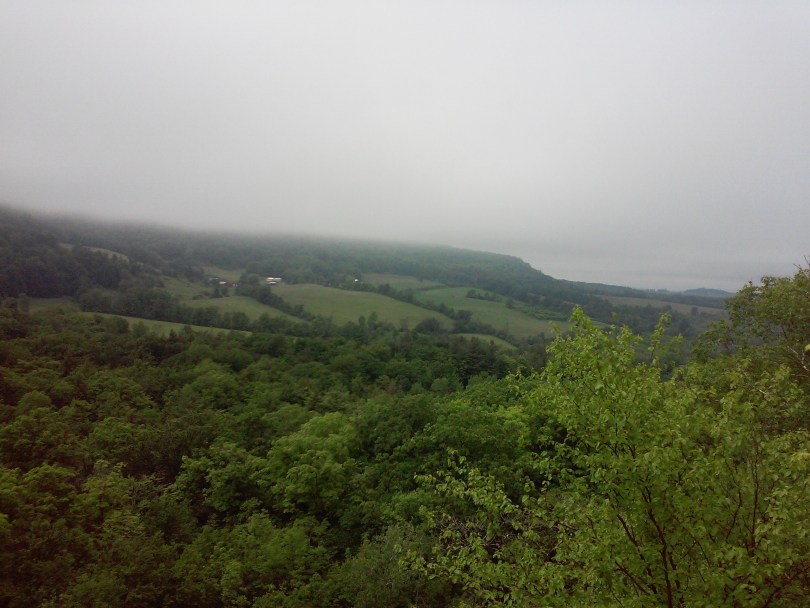 Rainy day in Cherry Valley NY between Cooperstown and Sharon Springs