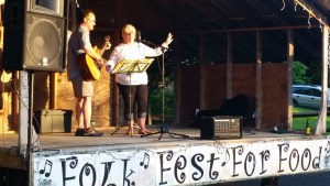 Folk Fralicks for Food at Cherry Valley NY Folk Fest