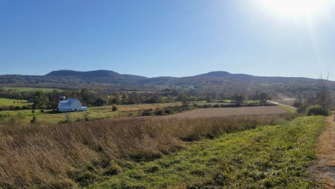 A beautiful view of the northern Catskills from near Hidden Camp Farm, Canajoharie NY