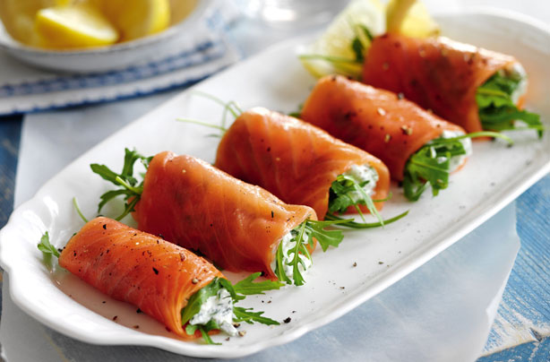 Slimming World S Smoked Salmon Cottage Cheese And Rocket
