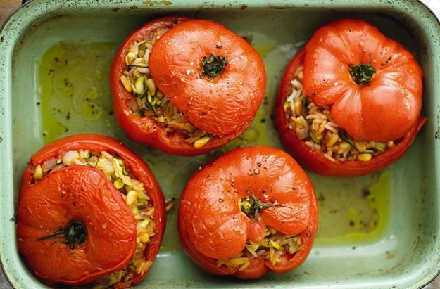Image result for TOMATOES WITH MOROCCAN-STYLE FISH STUFFING